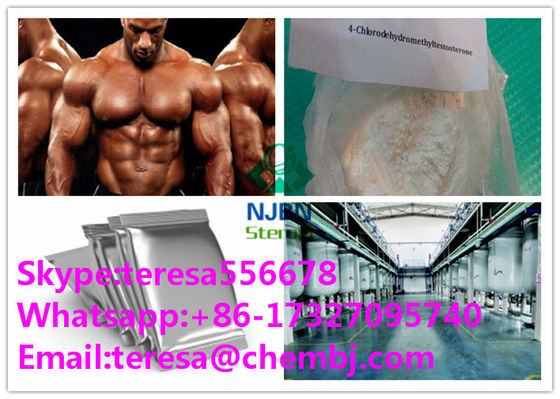 الصين Turinabol 4 Chlorodehydromethyltestosterone نمو العضلات المنشطات CAS 2446-23-3 المزود